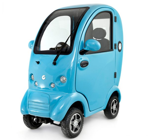 Scooterpac Cabin Car blue