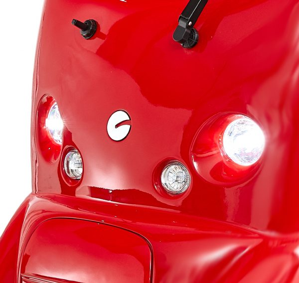 Scooterpac Cabin Car headlights