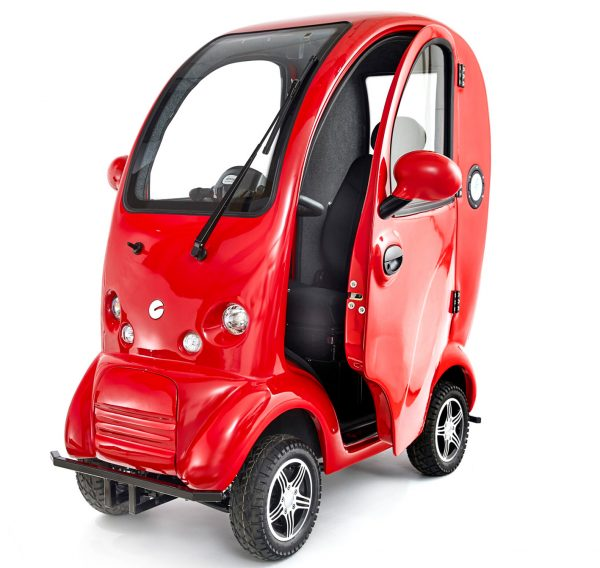 Scooterpac Cabin Car red