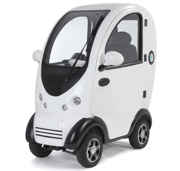 Scooterpac Cabin Car white