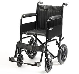 Attendant-propelled-wheelchair