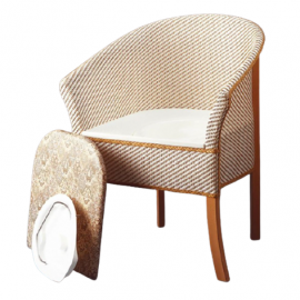 basketweave-commode-chair