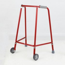 days-red-wheeled-walking-frames---adjustable-height