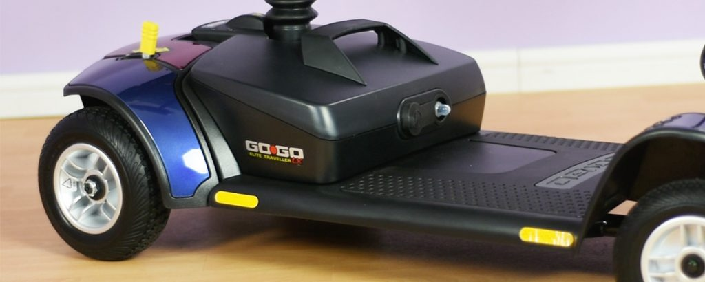 What types of batteries do mobility scooters use?